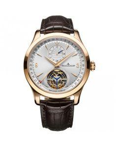 Reloj Jaeger-LeCoultre Master Tourbillon DualTime Watches, Wallets, Accessories, Men, Clock, Wristwatches, Clocks, Purses, Guys