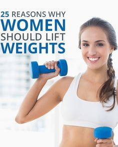 You'll never believe all the benefits of lifting weights. Click here for a list of reasons why you should start today.