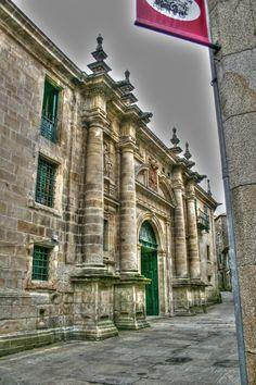 Convento de clausura de San Paio en Santiago de Compostela.