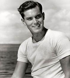 Jeffrey Hunter. 1953.