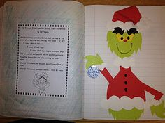 grinch activ, school, grinchma, holiday poetri, grinch christma, winter holidays, christmas, christma idea, poetry