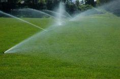 Groundwater is the water that nourishes plants.Tip: Water your lawn in the cool morning hours and only when necessary. Use native plants and grasses that don't require a lot of water or fertilizers to thrive. Lawn And Landscape, Landscape Services, In Ground Sprinkler System, Sprinkler Irrigation, Lawn Care Tips, Lawn Sprinklers, Garden Stones, Native Plants, Amazing Gardens