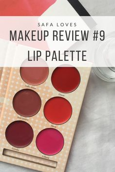 B. is a vegan/vegetarian suitable beauty brand from Superdrug. This review is on the Kissable Cult Lip Shades Palette which includes six of their lipsticks.