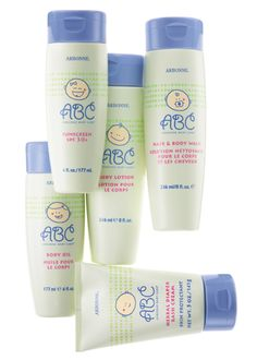 ABC= Arbonne Baby Care ...only healthy products to use on your baby!