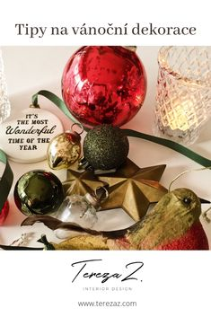 Chcete tipy na stylové vánoční dekorace. Čtěte u mě na blogu.