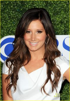 ashley tisdale, could have pin it in make up too or in people I admire, LOVE HER :)