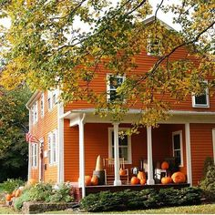 10/01/16 Happy October Tomris! I picked this one because the porch looks so inviting and pretty with all the Autumn colors. Have a great day my friend! xoxo Marty                                                                                                                                                                                 More