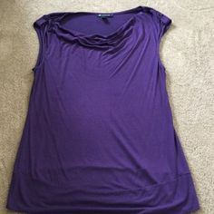 🎉plum/purple top sleeveless Like New!🍒 🎉 Pictures just don't do this top justice -- it is so flattering! Plum top sleeveless w/ subtle pink sparkle, slight drape in front -outstanding condition.  95% rayon 5% spandex-- perfect condition! super cute for summer or layering under a jacket, open front sweater, super nice for upcoming holidays! INC International Concepts Tops