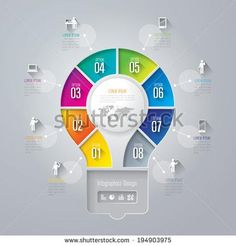 Infographics vector design template. Abstract 3D digital illustration Infographic. Vector illustration can be used for workflow layout, diagram, number options, web design.