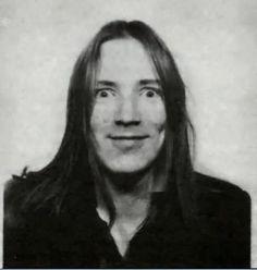 John Lydon as a long-haired rocker pre-Sex Pistols days (1971).