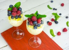 This yummy parfait is a delicious breakfast idea and a great source of probiotics and only uses natural sugars! These would also be fun in jars or sent to school in tupperware for school lunches :) Ingredients: Makes 2-3 servings 1 cup Greek yogurt 3-4 Tbsps raw honey 1 tsp vanilla extract 1/2...