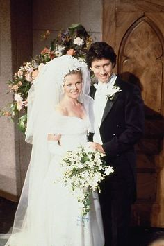 "Kimberly and Shane - Days of Our Lives What happened to their ""Little Jeannie""? She really stirred things up when she came back under another name! Soap Opera Stars, Soap Stars, Wedding Movies, Wedding Day, Kimberly Day, Charles Shaughnessy, Love Days, The Old Days, Days Of Our Lives"