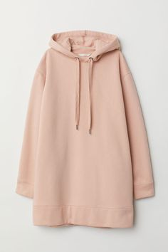 Soft, oversized sweatshirt with a lined drawstring hood, dropped shoulders, and ribbing at cuffs and hem. Oversized Hoodie Outfit, Oversized Dress, Teen Fashion Outfits, Casual Outfits, Hooded Sweatshirts, Hoodies, Jugend Mode Outfits, Mode Hijab, Sweatshirt Dress