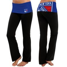 Women's New York Rangers Navy Blue Sublime Knit Lounge Pants #MyNHLWishListSweeps