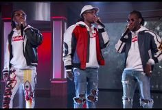 Migos Bring 'Bad and Boujee' To 'Jimmy Kimmel Live': Watch