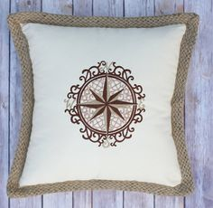 True North Cotton Pillow by mycousinmadeit on Etsy