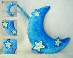 Blue Moon Plaque by ~thedustyphoenix on deviantART