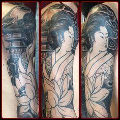 Geisha tattoo  Japanese tattoo