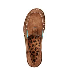 Ariat Women's Cruiser Palm Brown Slip-On 10017457 - womens designer shoes, online womens shoes shopping, winter dress shoes womens Cute Shoes, Me Too Shoes, Western Shoes, Western Style, Cowgirl Style, Western Wear, Up Girl, Swagg, Country Girls