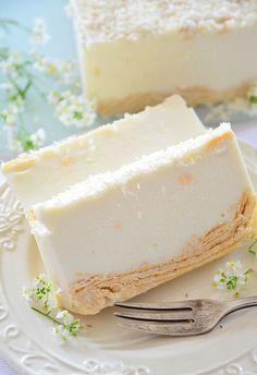 Polish Recipes, Polish Food, Mousse Cake, Food Cakes, Something Sweet, Tasty Dishes, Cheesecakes, Vanilla Cake, Food Inspiration