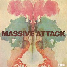 Risultati immagini per massive attack album cover Mtv, Cd Cover Design, Massive Attack, Memorial Day Sales, Rare Vinyl Records, Pochette Album, Trip Hop, Music Album Covers, Music Artwork