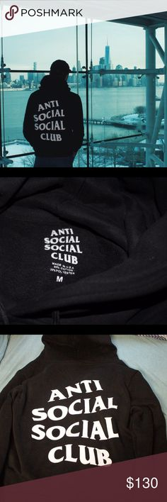 ASSC Mind Games Hoodie Anti Social Social Club Hoodie - Purchased off of grailed - Authentic - Price Flexible - Ask for more pictures if needed Anti Social Social Club Shirts Sweatshirts & Hoodies
