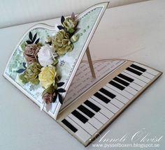 Hej där! Verkligen roligt att göra dessa piano kort, och snabbt gick det för en gångs skull. Om man har de rätta färgerna till ...