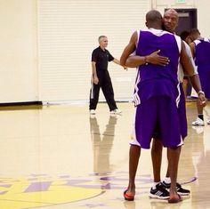 Byron Scott & Kobe Bryant
