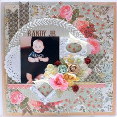 My Creative Scrapbook July Limited Edition Kit created by Angel Rodrigue.