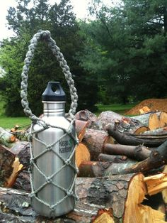 DIY Paracord Wrap Bottle ~ Emergency line for a dog leash ~ Fun gift for a dog lover | Instructables