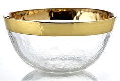 Columbo Gold Bowl, Medium on OneKingsLane.com