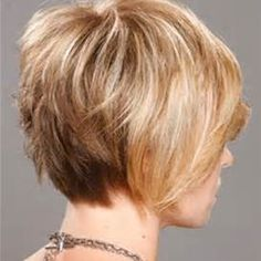 Short to Medium Layered Hairstyles From the Back