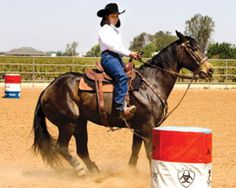 Training Tips for a Better Barrel Racing Foundation | Horse&Rider | Western Training - How-To - Advice