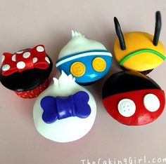Disney Cupcakes: Email me at jforester@mickeyadventures.com to start planning your magical Disney vacation today!