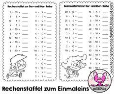 68 besten Lernen - Mathematik - Einmaleins Bilder auf Pinterest ...