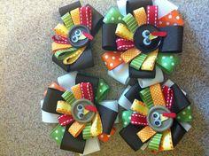 Thanksgiving hairbow :)