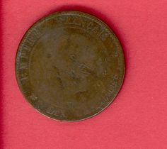 10 Centimes, France, 1856, front