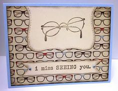 Cute card for an Optometrist!