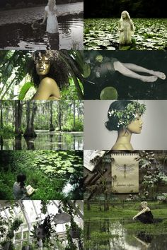 swamp witch aesthetic (more here)