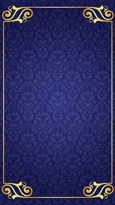 Classical retro classic blue background