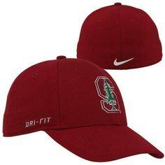 Nike Stanford Cardinal Dri-FIT Swoosh Flex Hat - Cardinal