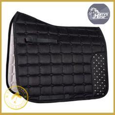 Harrys Horse Black Crystal Saddle Pad VZ - Saddlecloths Saddle Pads