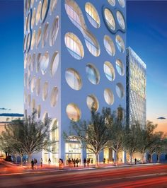 dbox architectural rendering of COR by oppenheim architecture
