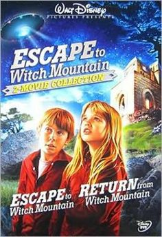 Escape To Witch Mountain / Return To Witch Mountain. Both of these were my version of a scary films as a kid.