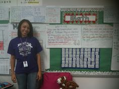 LOTS OF ANCHOR CHARTS on this page: Math Coach's Corner: A Plethora of Math Anchor Charts