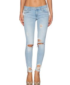 Frayed Denim Jeans from CYPRESS. Saved to My money. #wanelotrends. Shop more products from CYPRESS on Wanelo.
