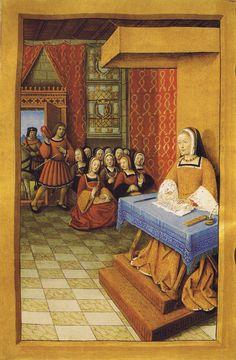 1504 (approx) - Epistres Envoyees au Roi - Fictive exchange of letters between Anne de Bretagne and Louis XII