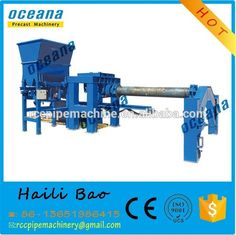 used concrete pipe forming making machine for sale Roller Suspension type
