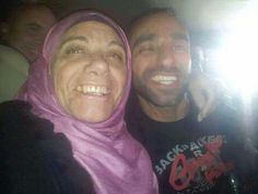 Happy her son is free ! Gaza