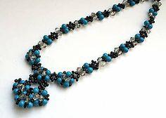 Náhrdelníky - Elegantný náhrdelník - 4841896_ Beaded Bracelets, Jewellery, Jewelery, Jewlery, Seed Bead Bracelets, Pearl Bracelet